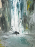 Milford Sound #1, 40 x 30, Oil/Canvas